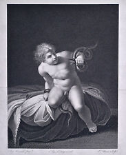 ca 1800 Aug. Carracci + Aug. Desnoyers + E. Morace HERACLES INFANT rare