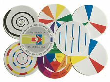 Newton's Colour Wheel School Set Spinner and 8 Discs