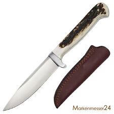 Trachtenmesser Jagd Nicker Jagdmesser Horn Griff Brotzeitmesser Messer Jäger