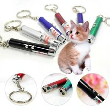Random Color LED Laser Toys Red Laser Pen  Funny Interactive Goods For Cats Pets