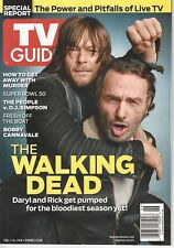 TV Guide Magazine Walking Dead February 1-14 2016 Double Issue
