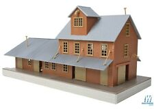 Walthers Trainline Brick Freight Station Kit 931-918 HO Scale (suit OO Also)