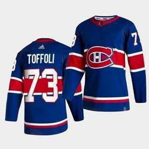 Tyler Toffoli Reverse Retro 2021 Montreal Canadiens Jersey