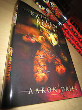 Aaron Dries THE FALLEN BOYS 1st/HB SIGNED/LIMITED MINT Thunderstorm Books
