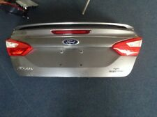 2012-14 Ford Focus Sedan SE Trunk Lid Complete OEM Nice Gray Color