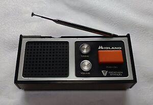 Midland Weather Station - FM Weather Receiver Model 13-901B
