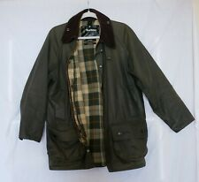 Men's Barbour Classic Beaufort Waxed Jacket Size Chest 42in/107cm | Good Cond.