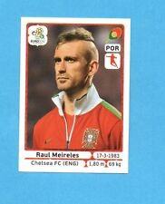 PANINI-EURO 2012-Figurina n.267- MEIRELES - PORTOGALLO -NEW-WHITE BOARD