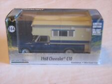 GreenLight Hobby Exclusive '68 Chevy C10 w/Slide In Camper 1/64 scale