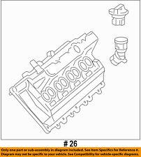 Dodge CHRYSLER OEM 2015 Challenger 6.2L-V8-Engine Valve Cover Left 68186145AC