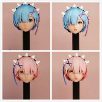 MR.TOYS MT2020-05 1/6 Anime Girl Rem/Ram Head Sculpt Fit 12'' Figure Pre-sale