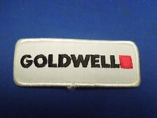 Vintage Goldwell Hair Products Company Advertising Embroidered Iron On Patch