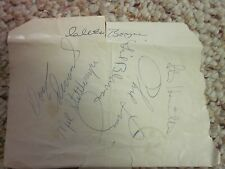(7) N. Y. Yankees (1965) Autographs Hall Of Fame Game (GREAT COLLECTIBLES)