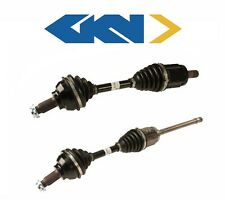 Set of 2 New Front CV Axle Assembly Left & Right Sides For BMW 325xi 330xi GKN