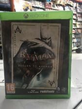 Batman Return To Arkham Uk XBox One NUOVO SIGILLATO