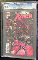 X-MEN #5 MARVEL COMICS 2012 VENOMIZED -1ST VENOMIZED RARE ! CGC 9.8! VENOM!