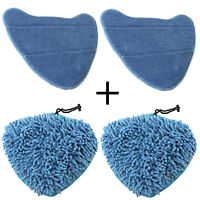 Cover Pads for VAX Steam Cleaner Mop S2 S2S S2C S2S-1 S2ST S3 S3S S5C S6S S6 x 4