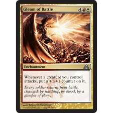 MTG DRAGONS MAZE * Gleam of Battle x2