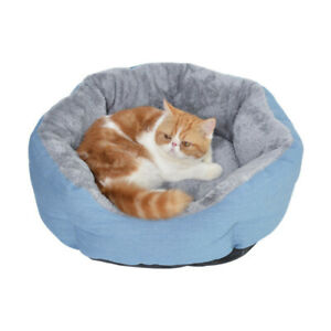 Self-Warming Cat and Dog Bed Nesting Pet Sofa Bed Fleece lining D198