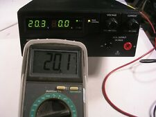 BK PRECISION  1687B   DIGITAL 0-36 VDC  0-10A 120/230 VAC SWITCHING BENCH PS