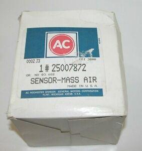 NEW GENUINE OEM AC DELCO GM 25007872 MAF Mass Air Flow Sensor BUICK OLDS 3.8LV6