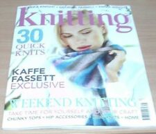 Knitting Monthly August Magazines in English