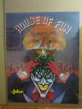 Vintage 1989 DC Comics Batman  The  the JOKER FUN HOUSE 5359