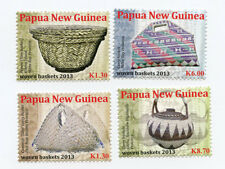 Papua New Guinea 2013 - Woven Baskets Set of 4 Stamps Mnh