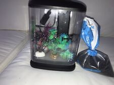 New listing Aqueon 1 GallonFish Tank with Base, Heater, Light