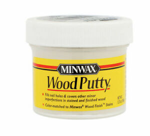 MINWAX Wood Putty Hole Filler Patch PICK  YOUR COLOR(S)! 3.75 oz