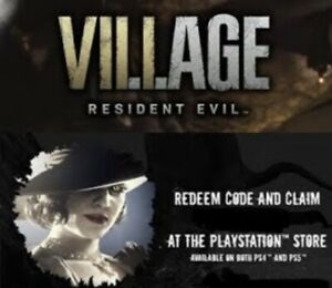 Resident Evil Village *Lady Dumitrescu Avatar* PlayStation 4 and/or 5, DLC Code