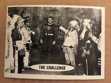 SUPERMAN 1966 TOPPS FIGURINA #36 EX CONDIZIONI DC COMICS LIBRO THE CHALLENGE