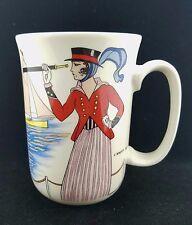 "Villeroy and Boch Design 1900 Grandmug ""Costume De Yacht"" Mug, Luxembourg"