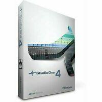 PreSonus Studio One 4 Artist PRO 💯 / W 7/8/8.1/10 32 & 64 bit✅ Instant deliver