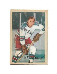 1953-54 Parkhurst:#60 Jack Stoddard,Rangers
