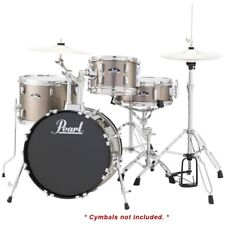 Pearl Roadshow 4pc Drum Set w/ Hardware Only - Bronze Metallic - Rs584/C707