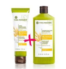 YVES ROCHER Botanical Hair Care Nutri Silky Shampoo + Conditioner SET LAST!