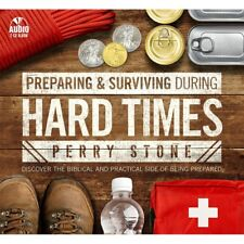"PERRY STONE-""Preparing and Surviving During Hard Times""-2 CD's-Just released"