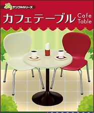 Re-Ment Rilakkuma Miniature Cafe Table & Chair Red/Beige Set (4414)