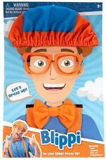 Blippi Dress Up Set - Includes Hat, Glasses, Bowtie and Suspenders, Brand New!!