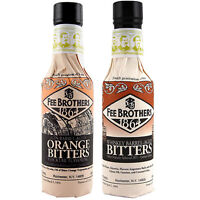 Fee Brothers Cocktail Bitters Limited 2 Pack - Barrel-Aged Orange & Aromatic Set