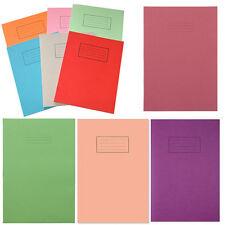 Libros De Ejercicio Escolar Niños escrito Forrado cuadrado de papel liso oficina en casa página