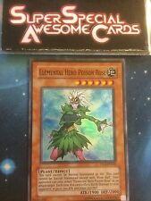 Yugioh Elemental Hero Poison Rose PP02-EN006 Super Rare Near Mint Fast Shipping!