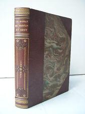 Le roman de Tristan & Iseut illustrations de Engels 1/2 maroquin mosaïqué 1914