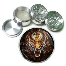 Tiger Aluminum Grinder D4 63mm 4 Piece Wildlife Zoo Bengal Cat Wild Animal