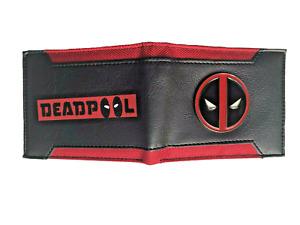 MARVEL Deadpool Wallet Purse Mens Kids Comics Movie Superhero PS4 Xbox Awesome