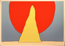 """PETER MAX """"CLOSER TO GOD"""" 1971   RARE SIGNED PRINT   POP ART   OTHERS AVAILABLE"""