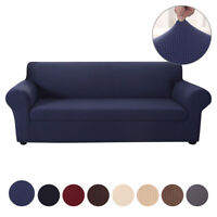 Home Stretch 2 Separate Pieces Sofa Cover Seat Jacquard Slipcover Multi Color