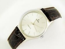 vintage Concord Swiss watch Leather band stainlesssteel back assembling in Cairo