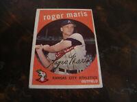 1959 Topps Baseball---#202 Roger Maris